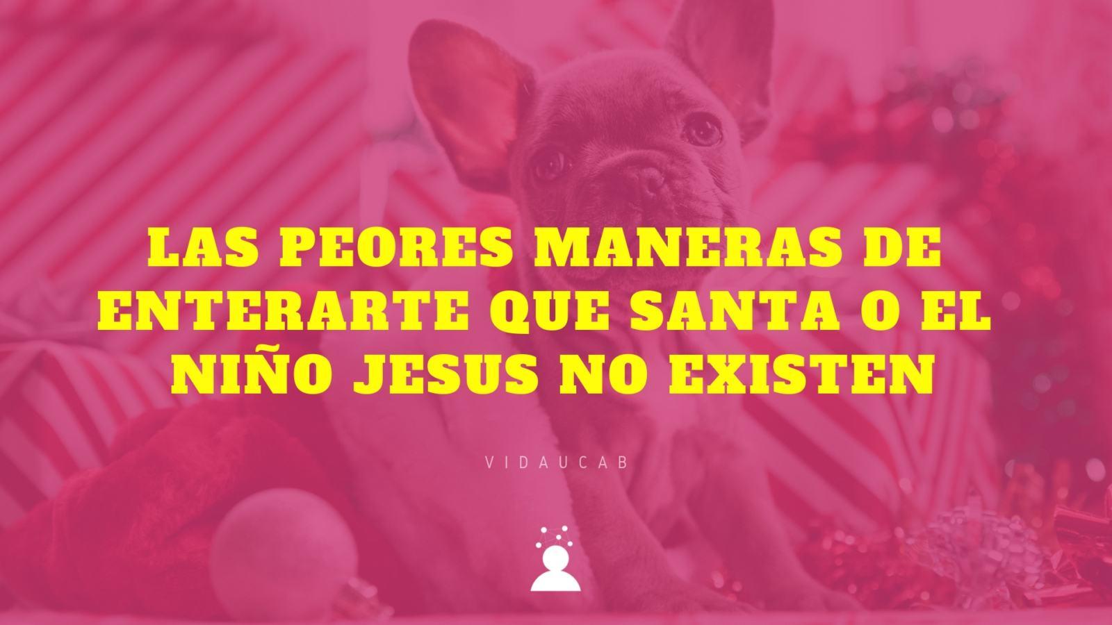 las peores maneras de enterar que Santa o el niño jesus no existe