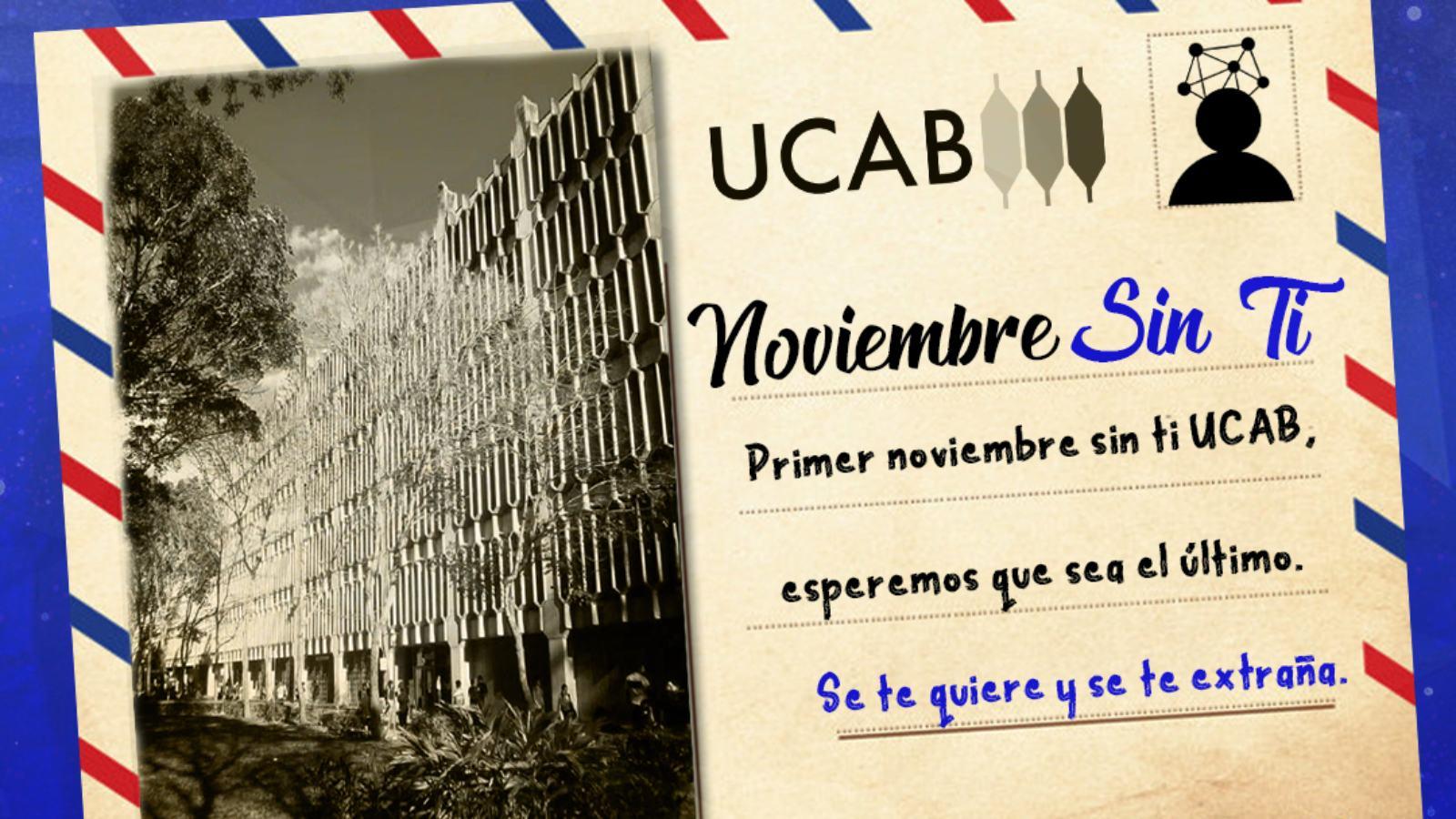 Noviembre sin la UCAB